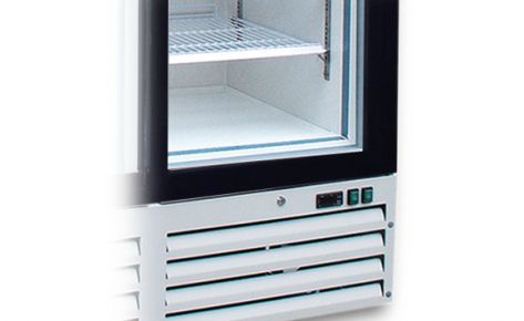 Double Door Upright Display Chiller